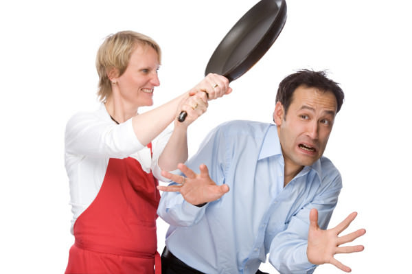 wife-frying-pan-husband